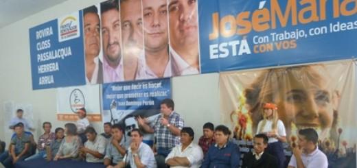 Organizaciones sociales acompañaron la candidatura de Arrúa