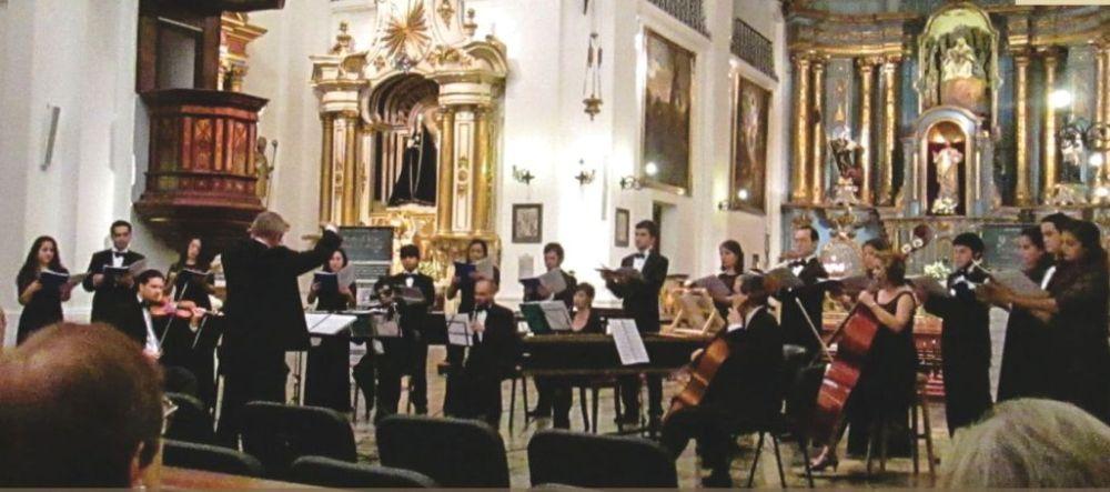 Interpretarán obras del período jesuítico «Loas a la Virgen» en concierto en la parroquia Sagrada Familia