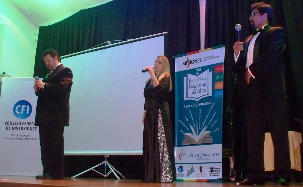 Con la Antología Poética del NEA y show de cantantes líricos cerró la XX Expo Feria Regional del Libro