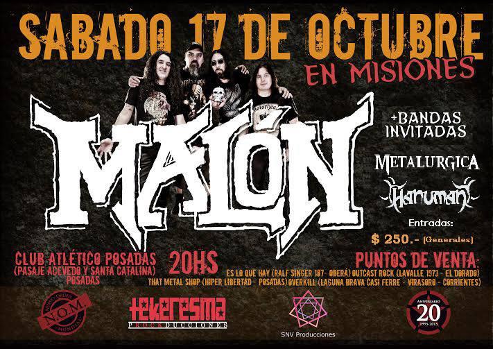 """Para jurar lealtad al metal llega Malón con el """"Nuevo orden Mundial"""""""