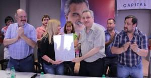 Passalacqua recibió el apoyo de la UDPM
