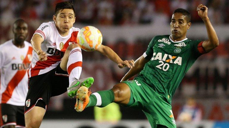 Sudamericana: River hizo valer su oficio y derrotó por 3 a 1  al Chapecoense de Brasil