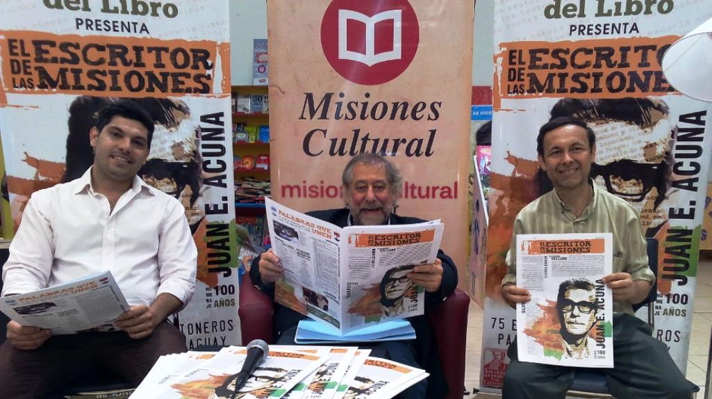 Feria Regional del Libro: El proyecto literario de Misiones sería único en el país, señaló Vaccaro