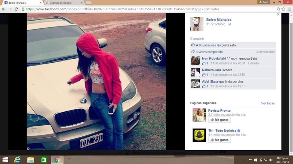 Continúa el escrache y repudio en redes sociales: crearon una página de facebook para encontrar a Belén Michalec