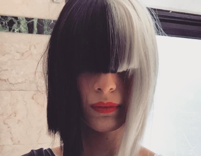 Diana Amarilla interpretó a Sia y deslumbró con su performance