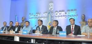 """""""Una Argentina para todos o para pocos; es la opción en el balotaje""""; afirmaron los gobernadores del Nea"""