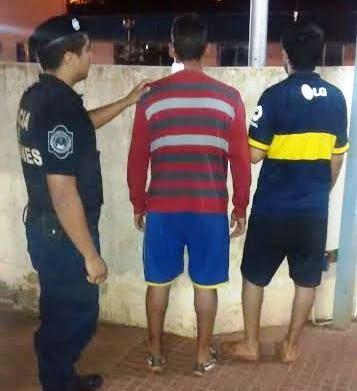 Posadas: causaban desorden y fueron detenidos
