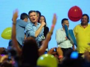 """Tras ser elegido presidente, Mauricio Macri prometió un """"cambio de época"""""""
