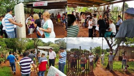 Realizaron una jornada solidaria a beneficio de vecinos afectados por temporal