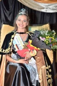Dámaris Giuliana Heidel de Leandro N. Alem es la nueva Reina de la Fiesta Provincial de la Cerveza