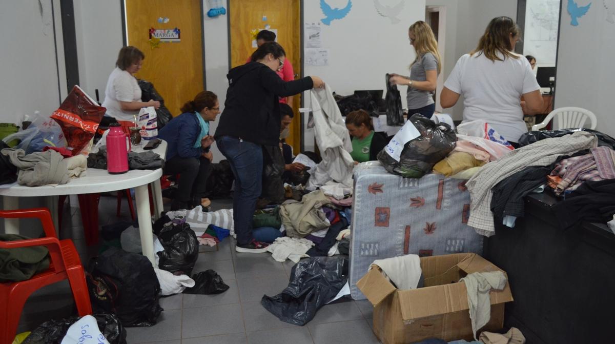 Se continúan recibiendo donaciones para ayudar a los damnificados por las inundaciones en Oberá