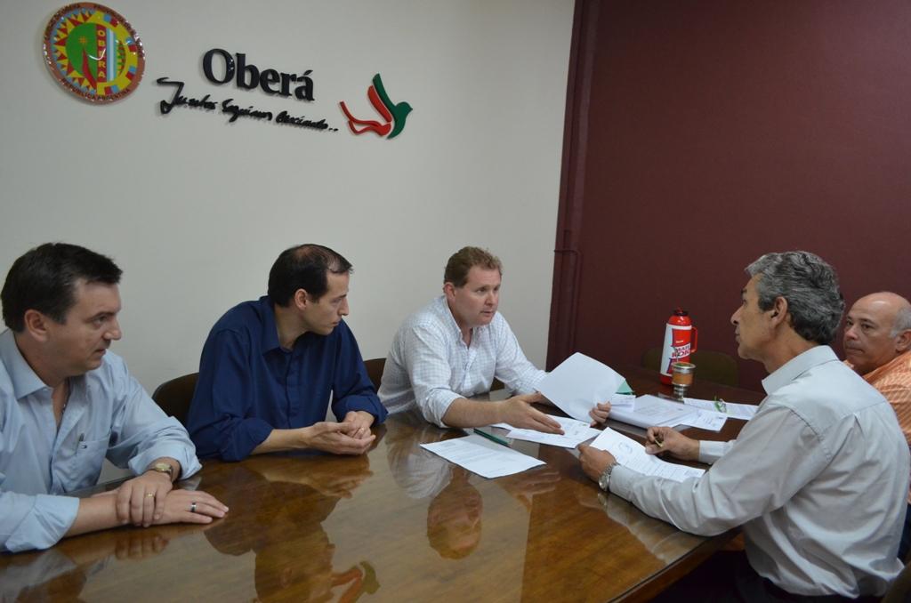 El Intendente electo de Oberá recibió informes sobre el estado de situación de la Municipalidad