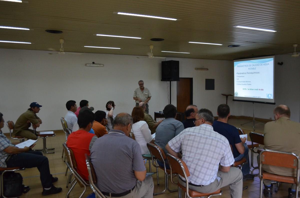 Capacitaron a empleados de las cooperativas de agua potable de la zona sur de Misiones