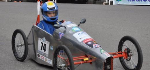 Los estudiantes de las técnicas se animan a más: se suman al rally con autos eléctricos