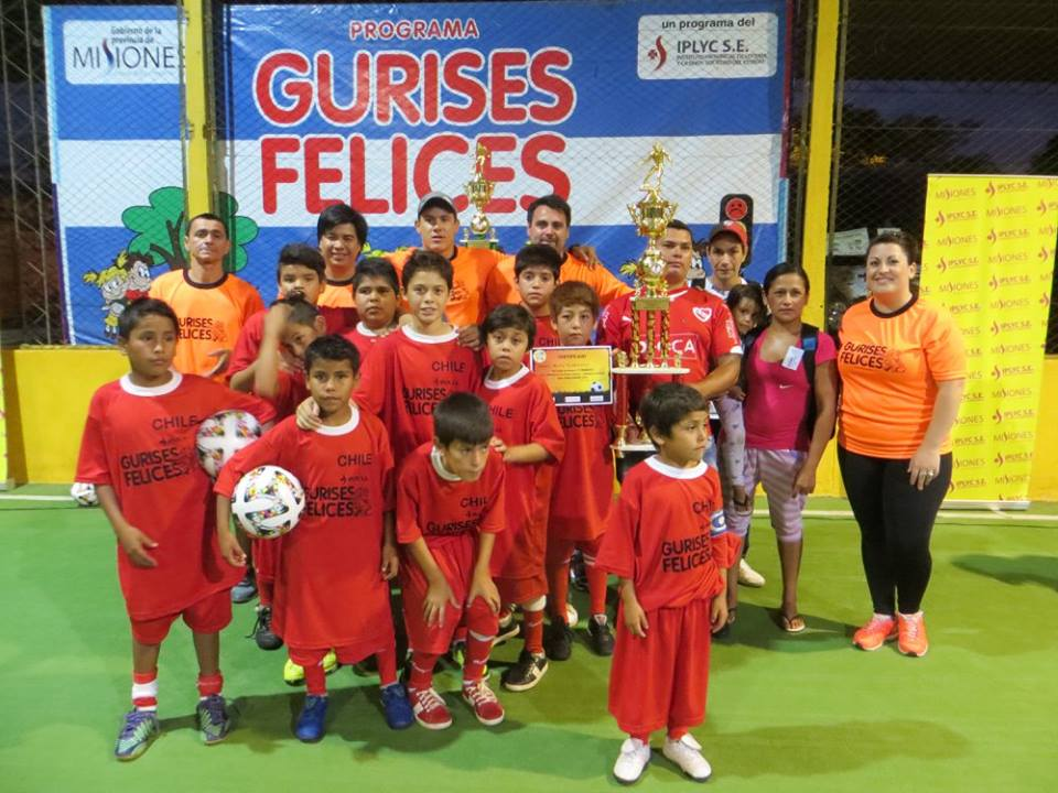 """Chile"" se llevó la Copa Challenger del Mundialito Fútbol 5 de ""Gurises Felices"""