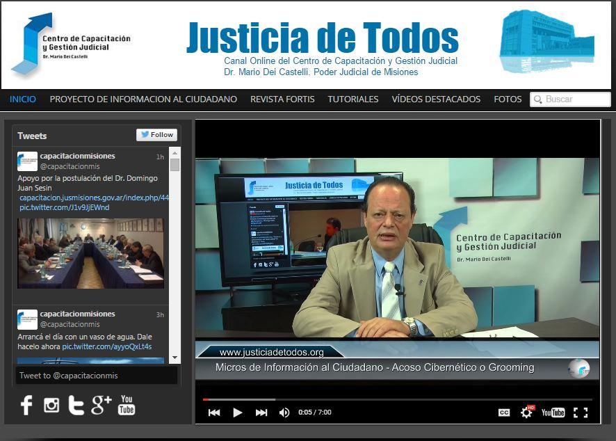 Micro de Información al Ciudadano: Acoso Cibernético o Grooming, ¿Se pena en la Argentina?