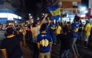 Boca campeón: otra vez la ciudad se vistió de azul y oro para los festejos