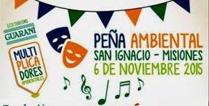 Fundación Temaikén celebra la III Peña Ambiental en San Ignacio