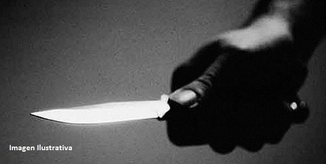 Detenido por robar y amenazar con un cuchillo