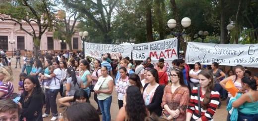 Convocan a una jornada de lucha contra la violencia de género en Posadas