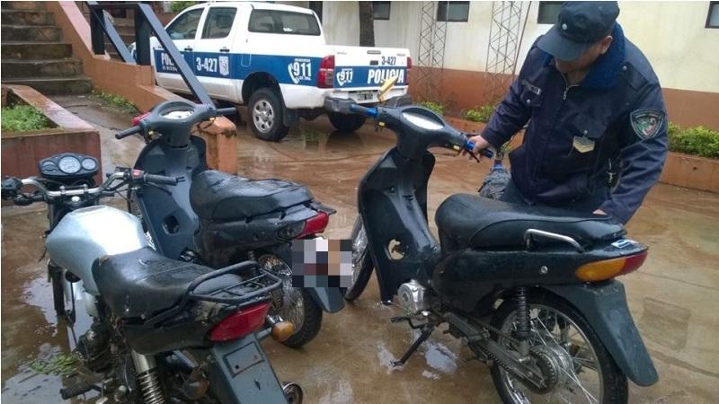 Cayó un joven involucrado en el robo de tres motos y otros hechos en Posadas