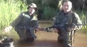 Difunden video con supuestos narcoterroristas paraguayos