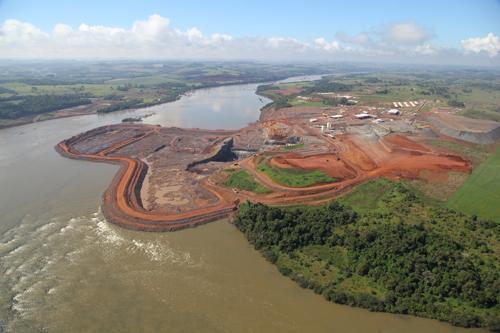 Es inminente el reinicio de las obras de la represa Baixo Iguaçu