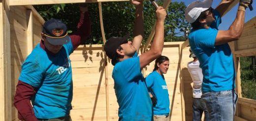 TECHO construirá 28 viviendas de emergencia este fin de semana en Oberá
