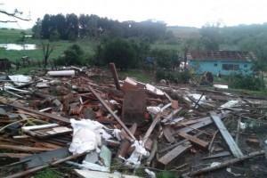 Tornado dañó Marechal Rondon, una ciudad cercana a Foz de Iguazú
