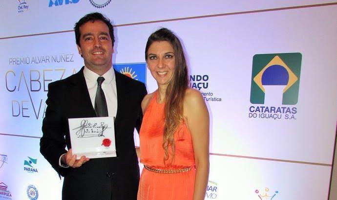 """El Amerian fue distinguido en la categoría de """"Compromiso Ambiental""""de los Premios de Turismo Trinacional Alvar Núñez Cabeza de Vaca 2015"""