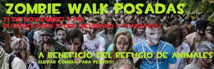 Los zombis caminarán esta tarde por Posadas