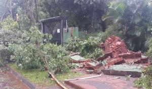 Encarnación y localidades vecinas muy afectadas por el temporal de esta madrugada