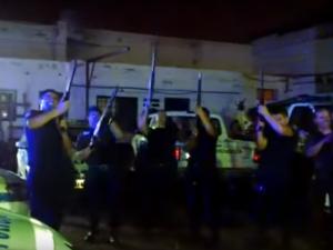 """Mendoza: Sancionarán a los policías  que """"celebraron"""" Nochebuena con tiros al aire"""