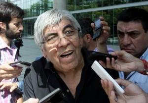 """Moyano le advirtió a Macri: """"No dejaremos que se pierda el poder adquisitivo"""""""