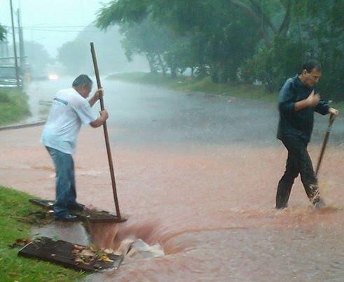 En Posadas 98 familias fueron damnificadas por el temporal