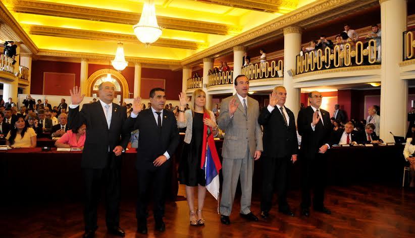 Britto asumió como parlamentaria del Mercosur