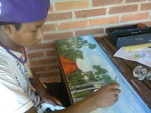 Los jóvenes de la aldea Jasy Porá de Puerto Iguazú expondrán en el museo Juan Yaparí