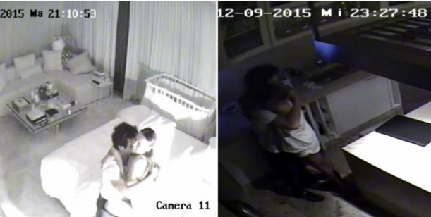 Imágenes comprometedoras: Pampita y Vicuña a los besos el mismo día que lo encontró con la China Suárez