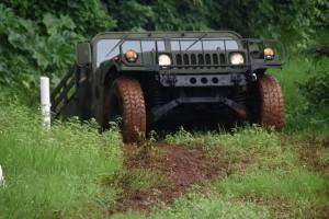 25 Humvee se sumaron al escuadrón de Caballería de la Brigada de Monte XII