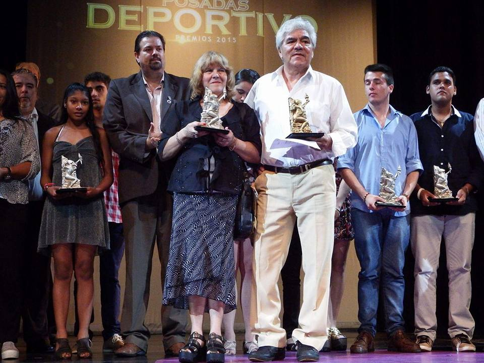Mariela Delgado fue la gran ganadora de la segunda edición de los Premios Posadas Deportivo