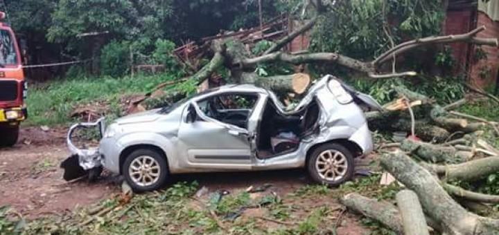 El intenso temporal dejó dos personas fallecidas en la provincia