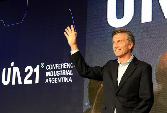 """Macri: """"A partir de hoy no habrá más retenciones al sector industrial"""""""