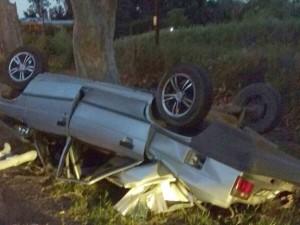 Un remisero acusado de matar al volante a un chico, murió en un choque