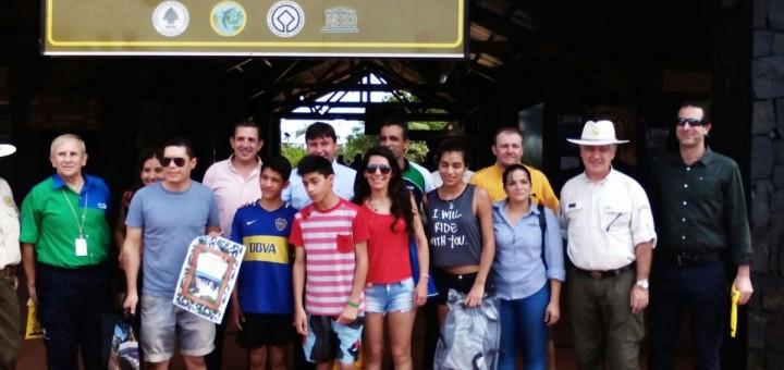 Cataratas del Iguazú alcanzó un nuevo récord histórico de visitantes