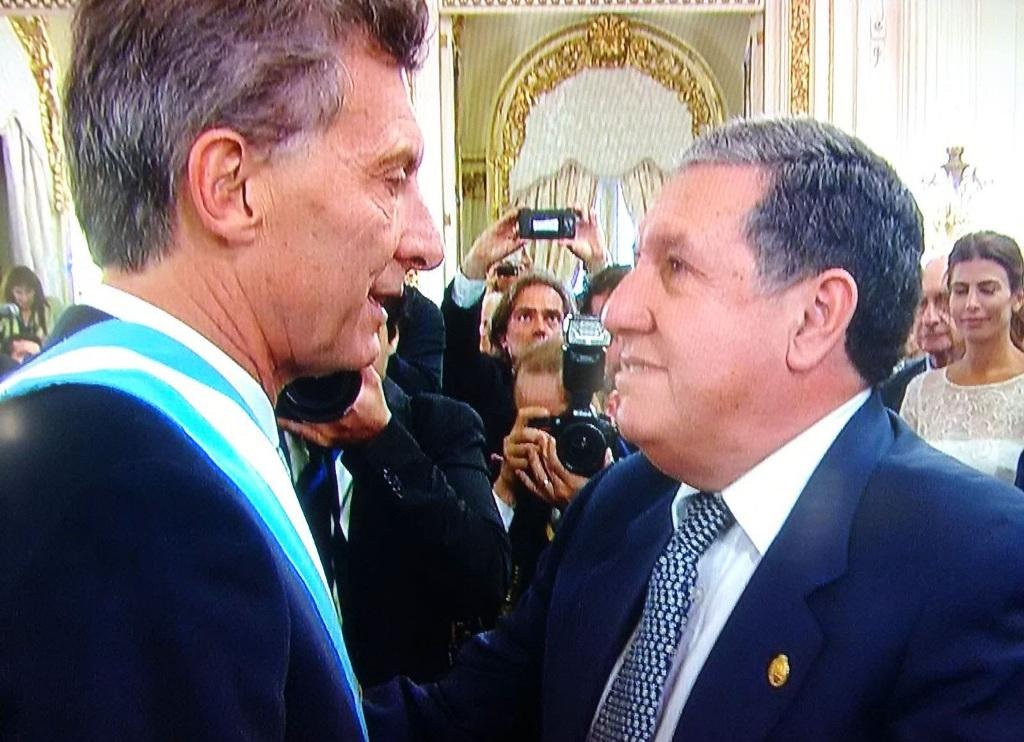 Ramón Puerta confirmó que será embajador en España