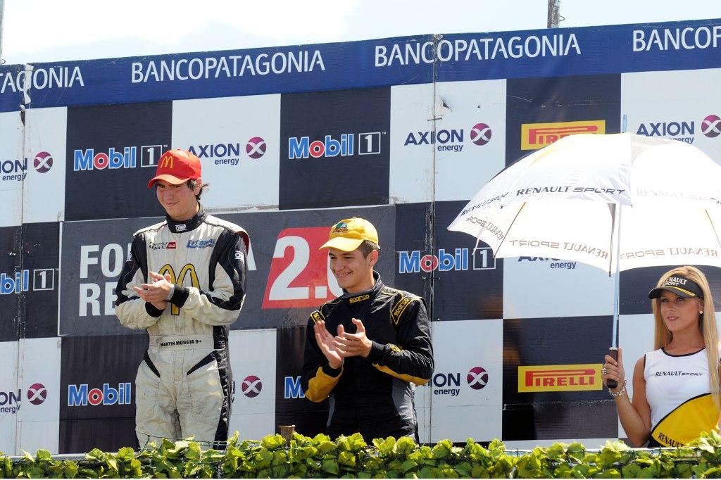 Rudito Bundziak salió 3º en San Luis y logró su cuarto podio de la temporada