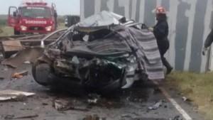 En grave accidente mueren cuatro integrantes de una familia que iniciaba sus vacaciones