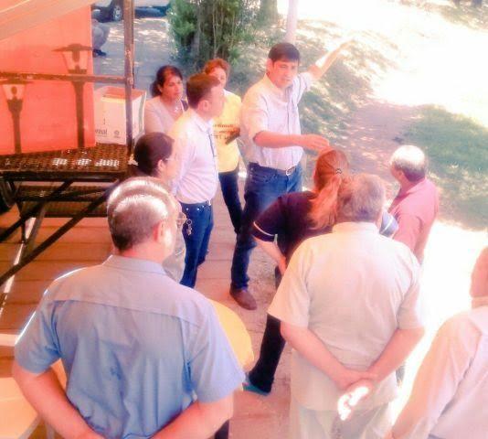 En Posadas se habilitaron dos consultorios móviles para febriles en Santa Rita y Villa Cabello
