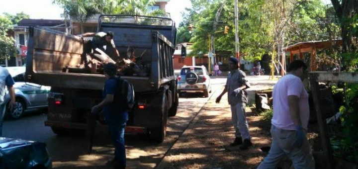 #Todoscontraeldengue: se cumple en Misiones jornada de asueto para limpiar las casas y terrenos