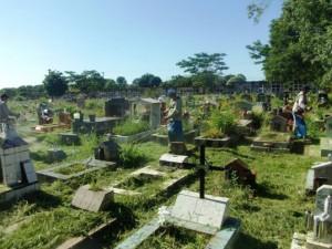 La Municipalidad de Posadas desmaleza y limpia el cementerio La Piedad